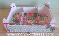 DIY Caja de fresas decorada III