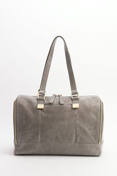I love grey: Madelynn is a stylish satchel and new for fall #fallfashion #behobo #betechchic