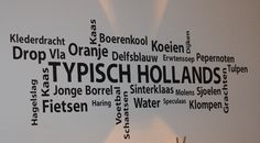 Typisch Hollande teksten #Dutch words