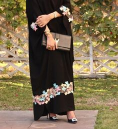PINTEREST: @MUSKAZJAHAN - Abaya Dubi Saudí