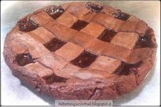 Babettes gæstebud.: Chocolate tart with strawberry jam