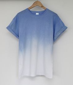 faded blue t-shirt