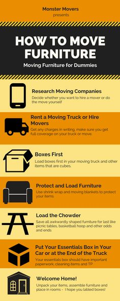 Moving Furniture for Dummies