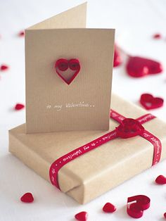20 quick and easy Valentine cards to make :: Valentine ideas