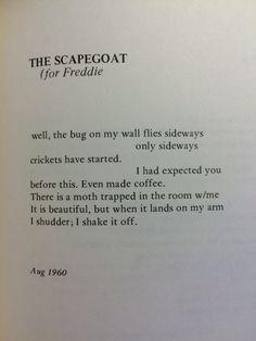 The Scapegoat, —Diane di Prima