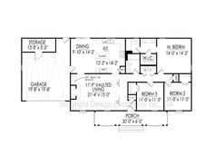 Designer House Plan: The Carolyn-DE129   Design Evolutions Inc., GA