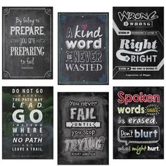 Another great find on Inspire U 'Kind Word' Chalk Design Poster - Set of Six by Creative Teaching Press Free Dingbat Fonts, Creative Teaching Press, Teaching Tools, Teaching Math, Teaching Ideas, Teaching Posters, Chalk Design, Importance Of Time Management, Thing 1