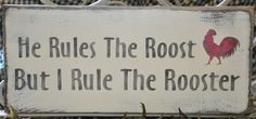 Primitive Rustic Western Country He Rules The by theprimitivebarn1, $12.99