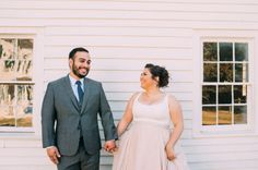 Real Weddings: Meet Ana | Dress: Carol Hannah Kensington with custom tank in 4-ply silk crepe | Photographer: Jessica Oh
