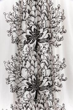 Villa, Textiles, Curtains, Shower, Decoration, Drawings, Prints, Inspiration, Design
