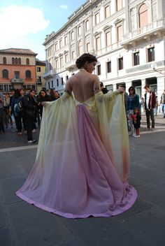 Padmé lake pastel rainbow gown costume. €300.00 dd13049bb
