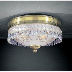 Włoski plafon z kryształami Nuoro 300 - LampyTanie - 1296,41 PLN