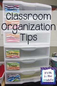 Tips, tricks, and must-haves for organizing your classroom