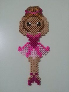 Perler Bead Ballerina by MadSuzz on DeviantArt