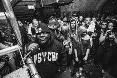 Killah Priest rockin PSYCHO in Budapest, Hungary. #Underground #Lifestyle #clothing #hiphop #underground #music #wutang #killahpriest #sunzofman