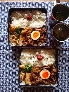 japanese food, sushi, sashimi, japanese sweets, for japan lovers Japanese Lunch Box, Japanese Food, Japanese Sweets, Cute Food, Yummy Food, Bento Recipes, Bento Ideas, Food Porn, Boite A Lunch