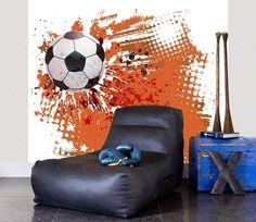 No Limits 30129 Explosion   Voetbal behang   Behang koop je online bij Behangexpert !