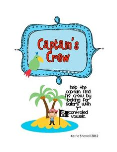 Captains's Crew - R Controlled Vowels (ar, er, ir, or, ur)