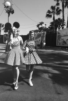 Disneyland in the 1950's