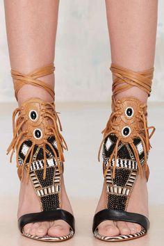 Sam Edelman Yates Leather Sandal - Open Toe | Heels | Shoes