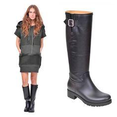November rain. Put MM6 - Maison Martin Margiela rain boots on!  SHOP NOW : www.suite123.it
