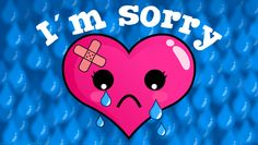 Stop saying I am sorry   Ever Cool Wallpaper You have nothing to be sorry about!