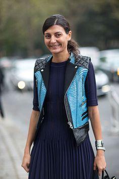 Street Style: Paris Fashion Week Spring 2014  - HarpersBAZAAR.com