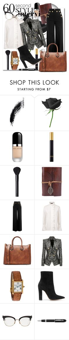 """Hurry up!, quick run fashion don't wait"" by chicbluemarty ❤ liked on Polyvore featuring Marc Jacobs, Tom Ford, NARS Cosmetics, RED Valentino, Burberry, Michael Kors, Balmain, Gianvito Rossi, Thom Browne and Fountain"