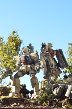 1/144 Gunpla Diorama: modeled by Masaki. Photoreview No.9 Wallpaper Size Images