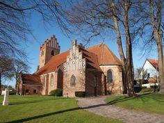 Vor Frue Kirke, Vordingborg, Denmark.