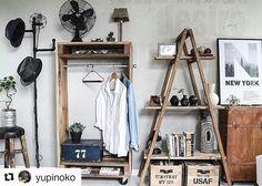 収納しないで飾って楽しむ!道具・洋服・雑貨などの見せる収納実例15選☆   folk