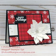 J. Pollock Designs | JoAnn Pollock – Independent Stampin' Up! Demonstrator Stampin Up, Heart Sketch, You Are Invited, Poinsettia, Happy Holidays, Christmas Cards, Congratulations, Happy Wednesday, Invitations