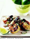 Lime Garlic Grilled Shrimp