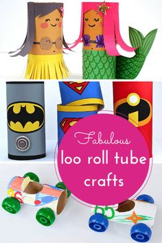 Hodge Podge / Fabulous things to make using toilet paper tubes!