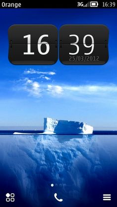 Free Iceberg theme by robjm on Tehkseven