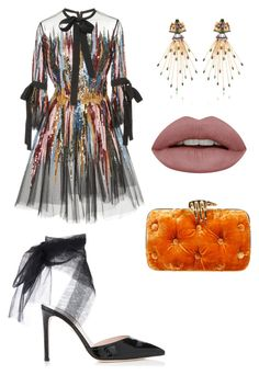 """Tea Time"" by planethajiwood on Polyvore featuring Elie Saab and Benedetta Bruzziches"