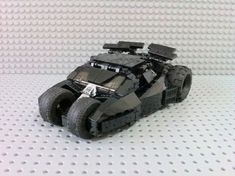 Lego Batman tumbler 2.1 (Leco City scale): A LEGO® creation by Angelo Samson : MOCpages.com