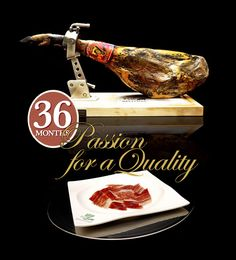"""7 Bellotas®: A Passion For Quality - Iberian cured #ham Made in a small scale to seduce those with a passion for best """"#JAMON #IBERICO"""" from #Spain"""