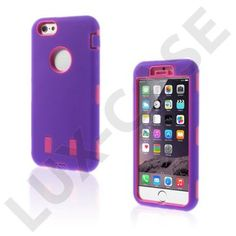 Boberg (Purple / Hot Pink) iPhone 6 Cover