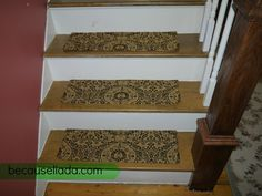 Best Stair Treads Stairs And Rug Pads On Pinterest 400 x 300