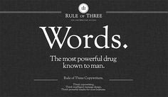 Rule of Three in Web Design Inspirational Cocktail # 43