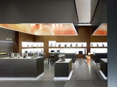 BORK flagship store by Ippolito Fleitz Group, Moscow