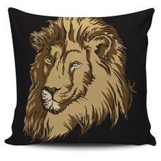 Lion Vector Pillow
