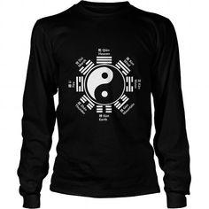 Kung Fu Apparel Tai Chi Yin Yang Bagua Chinese Character Uniform #Chinese