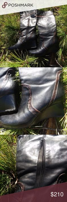 00069da59626 I just added this listing on Poshmark  Earthies Newcastle Tall Boots - Leather  Woman EUC