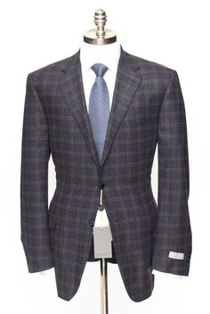 Slim Fit looks fantastic, in this CANALI 1934 Navy Plaid Wool Cashmere 2Btn Coat Jacket!  |  Want your own? http://www.frieschskys.com/suits  |  #instastyle #mensfashion #mensstyle #menswear #dapper #stylish #MadeInItaly #Italy #couture #highfashion