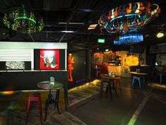 Art Bar, The Stripe Collective - Restaurant & Bar Design