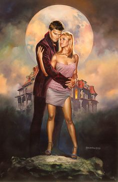 Buffy by Boris Vallejo. This original piece of art depicting Buffy The Vampire Slayer by Boris Vallejo is currently available for purchase. Boris Vallejo, Joss Whedon, Fangirl, Jordi Bernet, Buffy Summers, Conan The Barbarian, Buffy The Vampire Slayer, Vampire Art, Illustrations