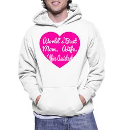 World's Best Mom, Wife, Office Assistant Hoodie