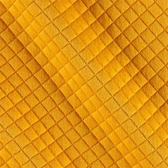 Telio Mini Quilted Knit Diamond Yellow from @fabricdotcom This soft yet stable double knit fabric features a…